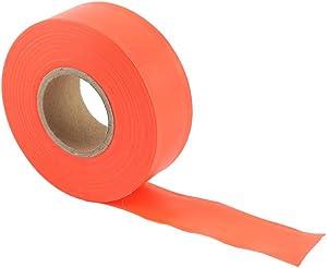 Mumusuki Marking Ribbon High Visibility Camping Marking Ribbon Roll Track Ribbon Caution Tape Non-Adhesive Outdoor Garden Marker Ribbon