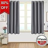 Amazon.com: Grey - Draperies & Curtains / Window Treatments: Home ...