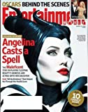 Entertainment Weekly - March 14, 2014 - #1302 - Angelina Casts a Spell - Angelina Jolie on Cover - Also, Oscars Behind the Scenes and 10 Funniest Shows