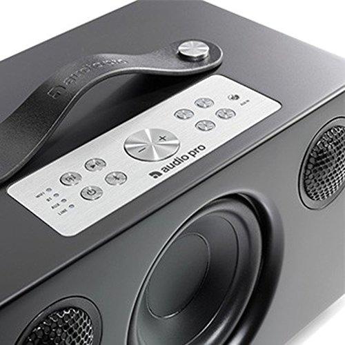 Audio Pro Addon C5 Negro Altavoz - Altavoces (Inalámbrico y alámbrico, Bluetooth/RCA/3.5mm, 50-20000 Hz, Negro)