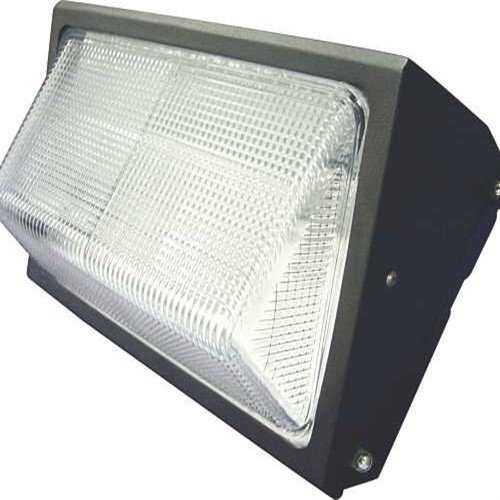 Monument 297168 Metal Halide Wall Pack Aluminum Housing with Tempered Glass, 175W MH Lamp Included, UL Listed for Wet Location, Bronze