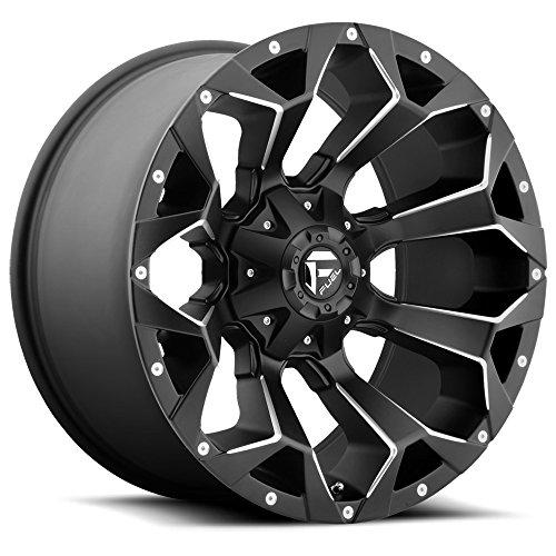 (Fuel Offroad D546 Assault 18x9 6x135/6x139.7 -12mm Black/Milled Wheel Rim)