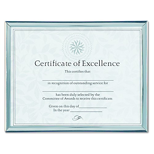 dax n17002n value u channel document frame with certificates 8 1 2 x 11 inches silver buy. Black Bedroom Furniture Sets. Home Design Ideas