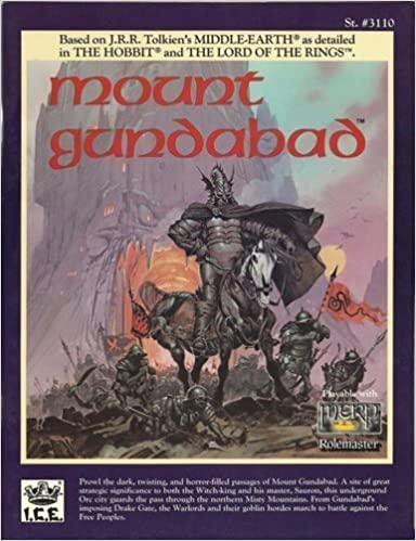 Mount Gundabad (Middle Earth Ser.) by Carl Willner (1989-10-04)