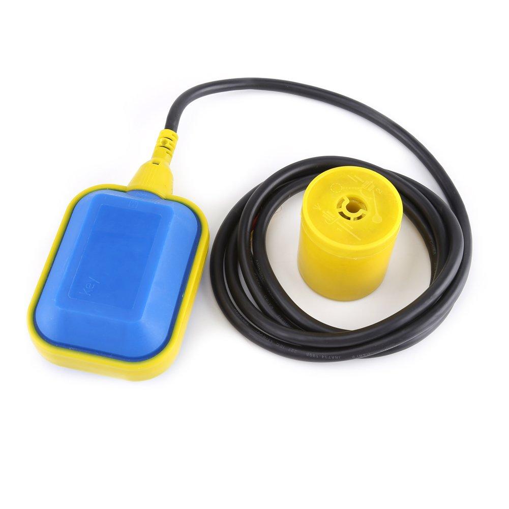 Interruptor de Flotador Controlador de Nivel Líquido Interruptor de Nivel Líquido con Cable(2m): Amazon.es: Industria, empresas y ciencia