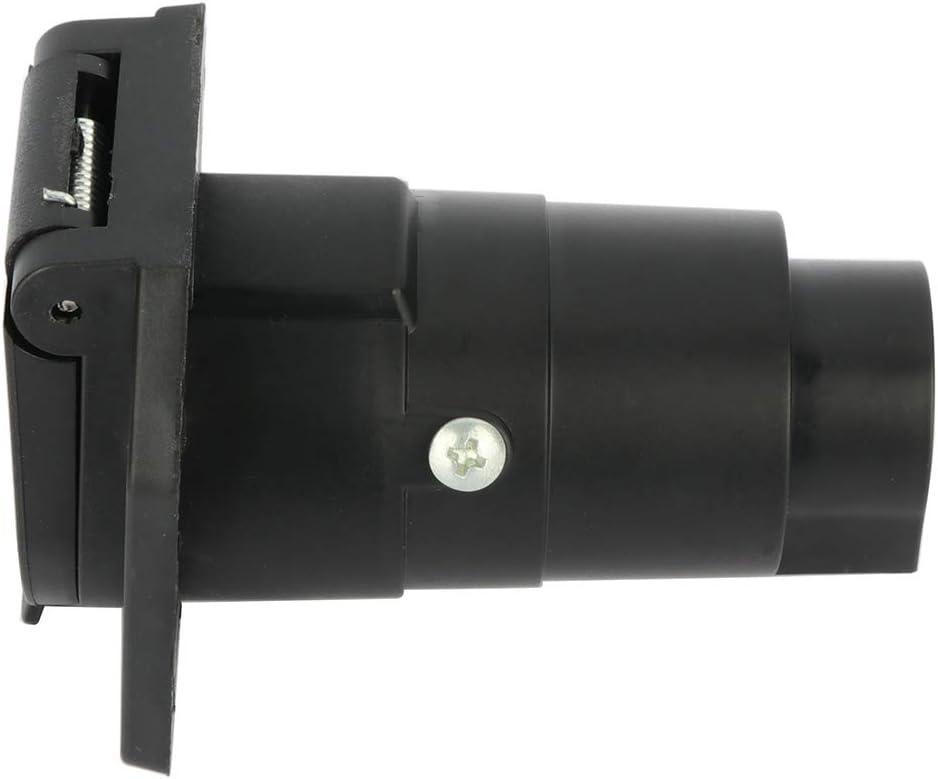 SCITOO 7 Way Round Trailer Connector Socket Waterproof