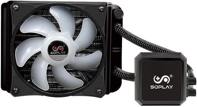 Docooler SOPLAY Enfriador Ventilador Refrigeración por Agua CPU ...