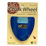 YEQIN Chalk Wheel Fabric Marker Tailor's Chalk DIY Sewing Parts (Blue)