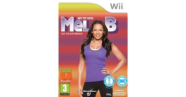 Get Fit With Mel B (Wii) [Importación inglesa]: Amazon.es ...