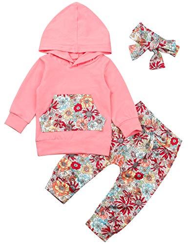 Baby Girls Long Sleeve Hoodie To...