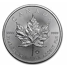 2017 1 oz Silver Maple Leaf - $5 Face Value