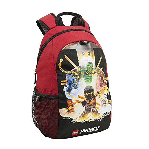Ninjago Wu Cru Eco Heritage Classic Backpack with Side Mesh Pocket