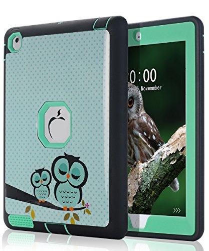 TOPSKY iPad 2 Case,iPad 3 Case,iPad 4 Case, Cute Sleep Owl P