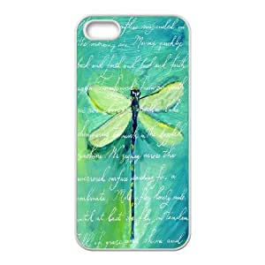 Green Dragonfly Case For Sam Sung Galaxy S4 I9500 Cover Cases, Stevebrown5v {White}