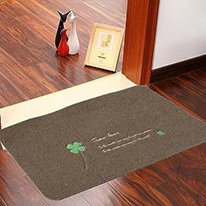 Skid Machine Embroidered Floor Mats/Doormat/Doormat To Clean Your Shoes /Bathroom Mat/Floor Mat-A 50x80cm(20x31inch)