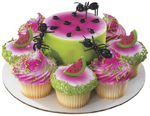 (Deco 3 Plastic Ants Cake Toppers)