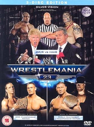 WWE - Wrestlemania 23 [DVD] [Reino Unido]: Amazon.es: Wwe: Cine y Series TV