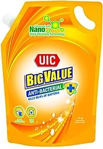 UIC Big Value Laundry Liquid Detergent (Anti-Bacterial), 1.6kg