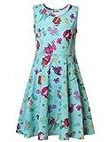 Jxstar Little Mermaid Dress Little Mermaid Costume French Little Mermaid Outfit Toast Girls Size 7 Girls Size 6 Elementary School Mermaid 130