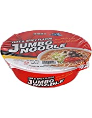 Paldo Hot and Spicy Jumbo Noodles, 110g - Pack of 1