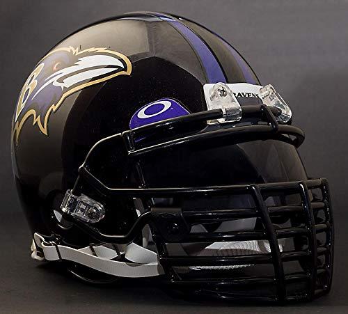 Riddell Custom Baltimore Ravens NFL ProLine VSR-4 Deluxe Replica Football Helmet