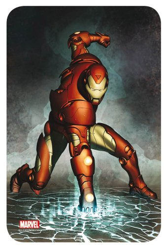 Marvel Comics Steel Covers Metal Plate Iron Man 17 x 26 cm ...