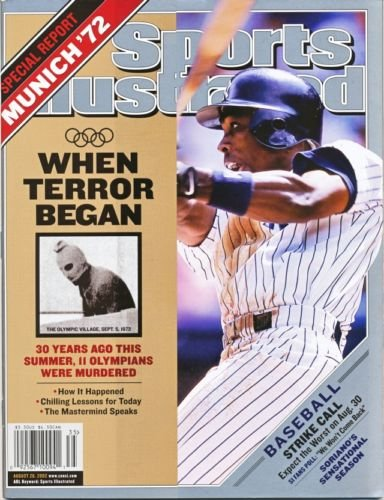 Sports Illustrated August 26 2002 Alfonso Soriano Yankees