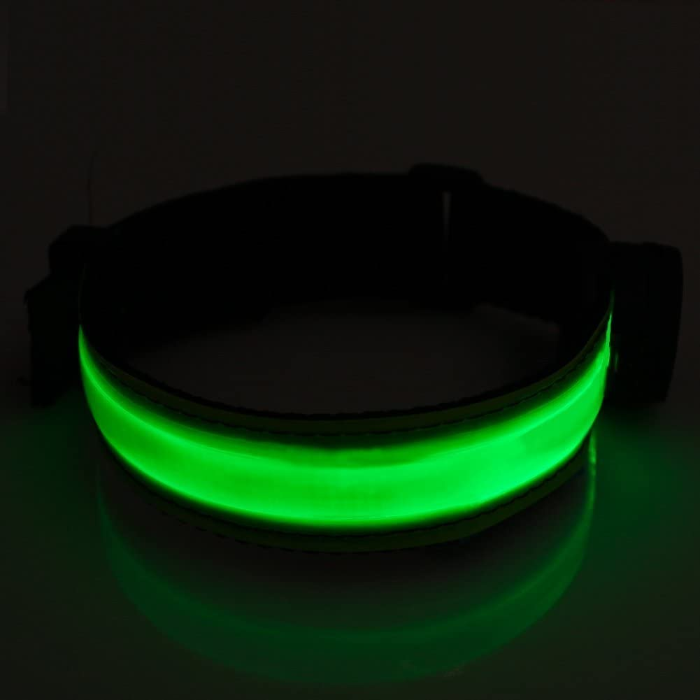 Glovion LED Armband - USB Rechargeable LED Running Armband Light- High Visibility Safety Gear for Night Running, Jogging & Cycling