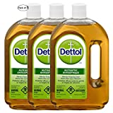 Dettol, Antiseptic Liquid, Effective Protection from Germs that Cause Infections, 1 L (Pack of 3)