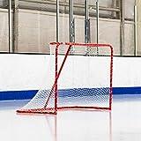 "FORZA Regulation Hockey Goal [6 x 4] | 1.5"" Galvanized Steel | 5mm Professional Net"