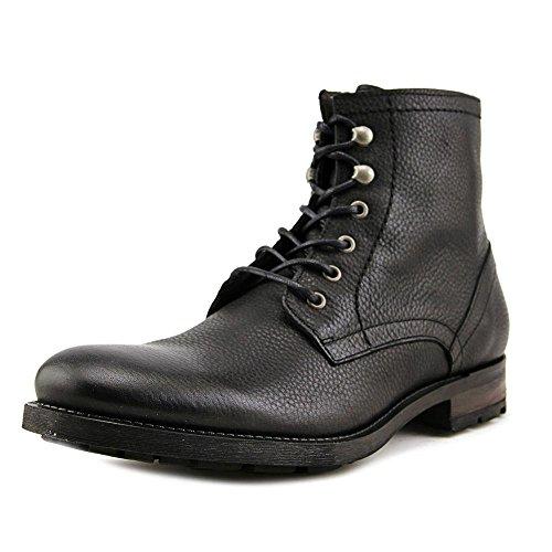 Aldo Xenos Men Round Toe Leather Black Boot