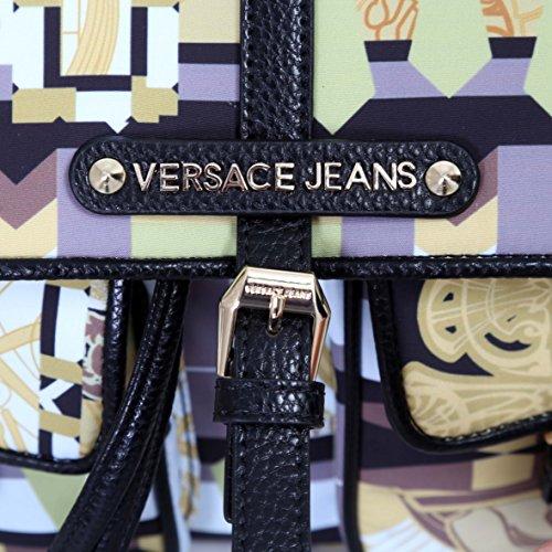 Stampato Nappa Versace Zaino Jeans Nylon wqxgpRRf
