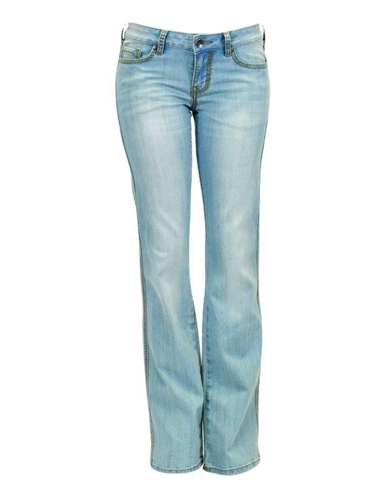 Cowgirl Tuff Co. Womens Summertime Jeans 28 Regular Light Wash