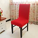 Wall of Dragon Modern Beige Chair Covers for Wedding Banquet Office Hotel Polyester Spandex Solid Stripe Chair Cover