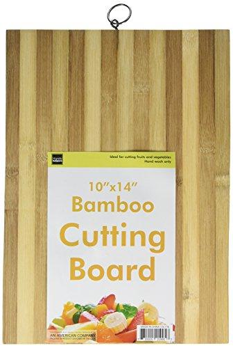 Boards Striped Bamboo - Kole OL178 Striped Bamboo Cutting Board, Regular