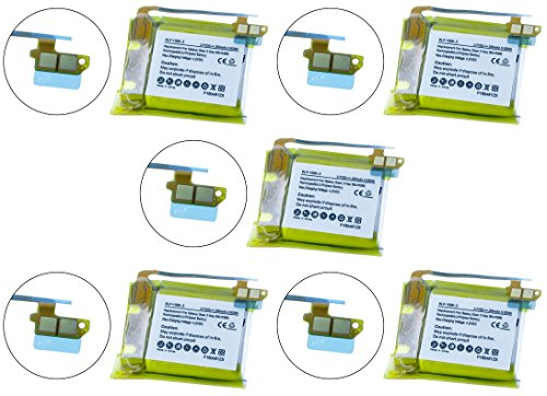 Samsung SM-R380 Smartwatch Battery Combo-Pack Includes: 5 x SDMP-P677 Batteries by Synergy Digital