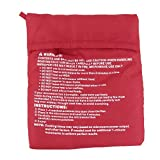 SuperStores Red Washable Cooker Bag Baked Potato Microwave...