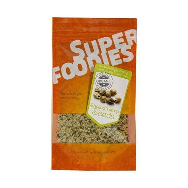 Superfoodies Superfoodies Organic Shelled Hemp Seeds 100 g