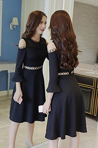 Amazon Com Autumn Dress 2018 New Korean Fashion Slim Thin