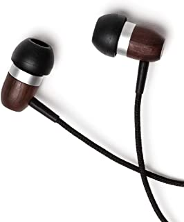 Symphonized GLXY Premium Genuine Wood in-Ear Noise-isolating Headphones  with Mic and Nylon 3189400627