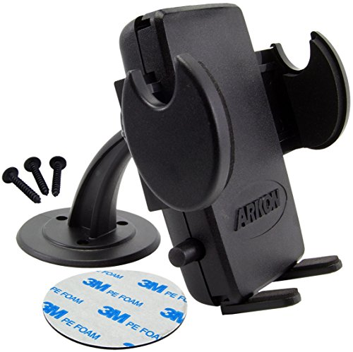 Arkon Adhesive Dash Car Phone Holder Mount for iPhone 7 6S 6