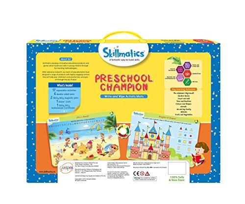 51nQYkw3SvL - Skillmatics Educational Game: Preschool Champion (3-6 Years) | Creative Fun Activities for Kids