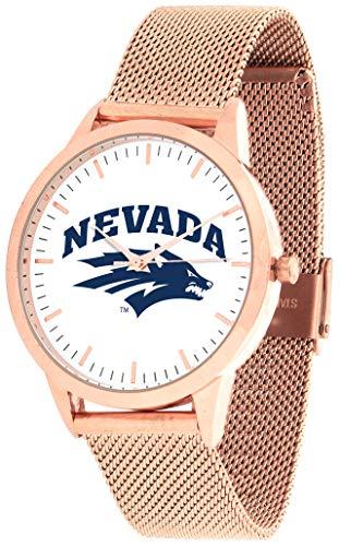 Nevada Wolfpack - Mesh Statement Watch - Rose Band