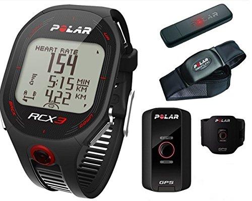Polar RCX3M GPS Heart Rate Monitor Running Watch