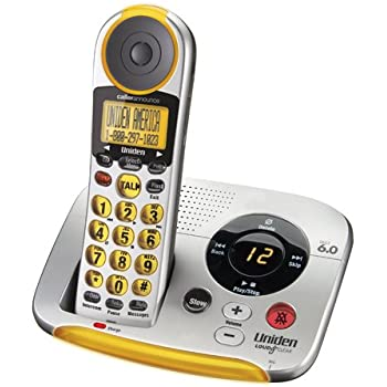 Uniden Big Button Cordless Phone and Digital Answering System (EZAI2997)