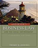 img - for Anderson s Business Law and the Legal Environment, Standard Volume book / textbook / text book