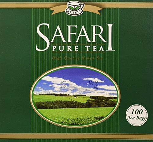 Safari Pure Kenya Tea - 100 Enveloped Tea Bags