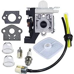 HUZTL Carburetor with Repower Maintenance Kit Spark Plug for ECHO GT225 GT225i GT225L PAS225 PE225 PPF225 SHC225 SRM225 SRM225U Trimmer