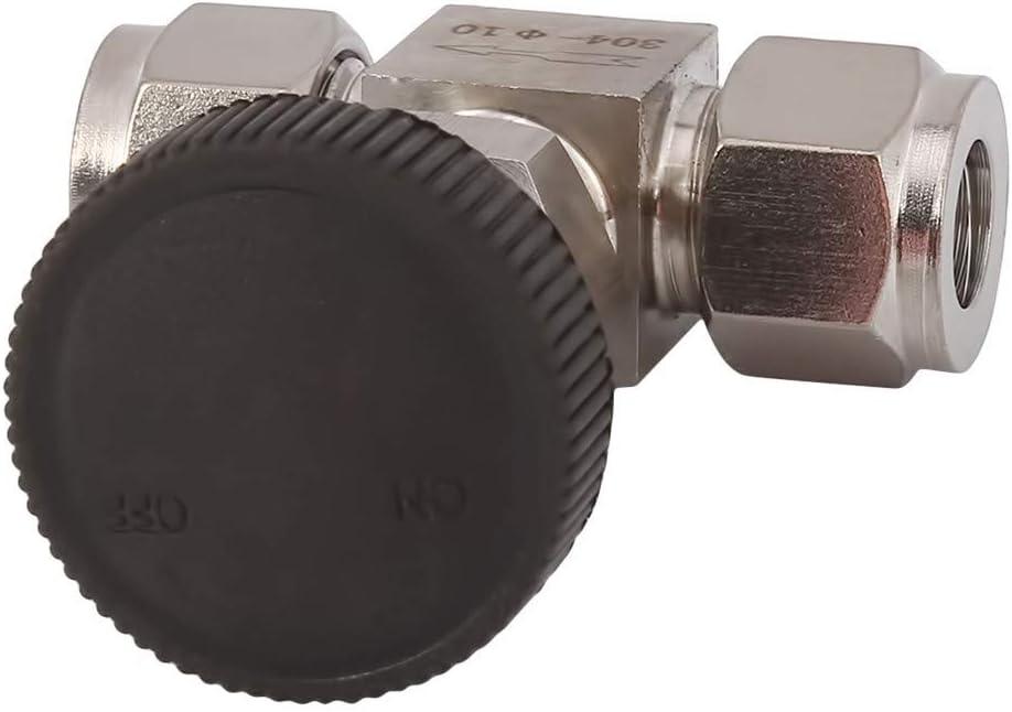 Model 3//8304 Flybloom Stainless Steel Flow Regulating Valve Needle Type Globe Valve Card Sleeve Type Flow Control Switch