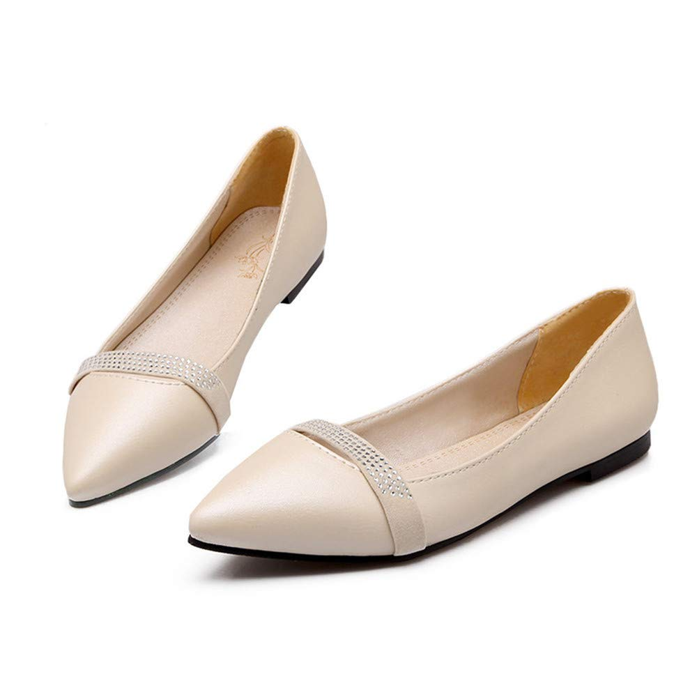 Shoes Woman Slip On Shoes Loafers Girl Ballet Flats Women Flat Shoes Soft Comfortable Plus Size 34-40 41 42 43 44 45 46 47 48
